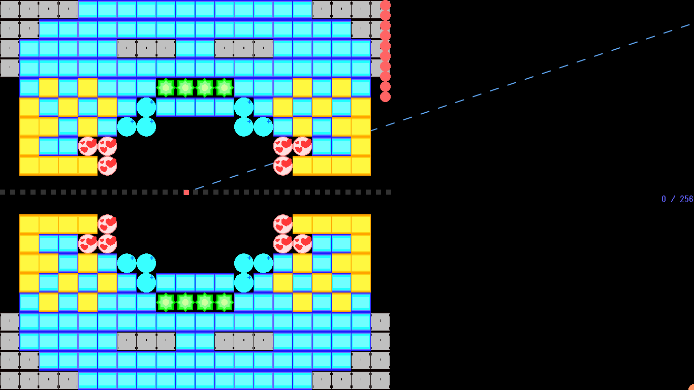 ブロック崩し(仮)(サバ&和紙)