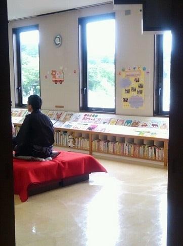 塩竈市民図書館・手羽先さん