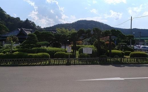 茂庭荘 景観