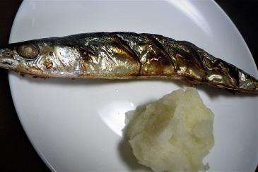 秋刀魚一夜干し