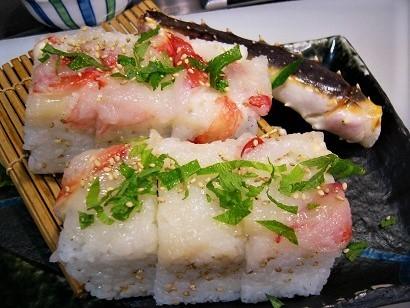 蟹太巻き寿司 (3)