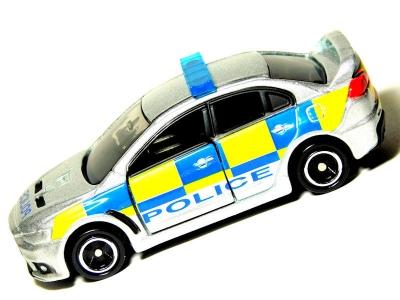 No.039 三菱 ランサーエボリューションX 英国警察仕様