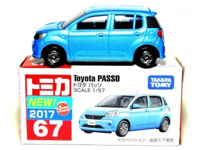 No.67 トヨタ パッソ