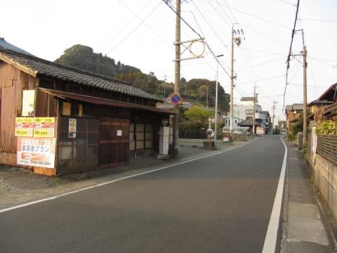 旧東海道 佐渡