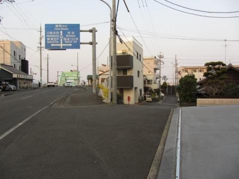 安倍川橋西詰
