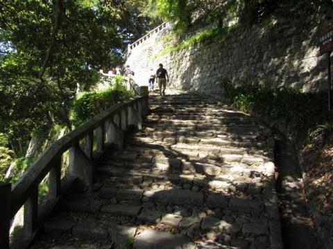 東照宮表参道石段