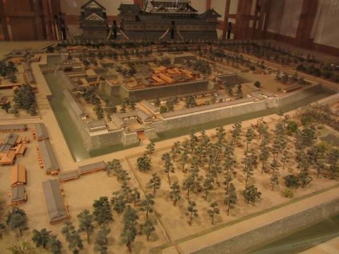 駿府城模型
