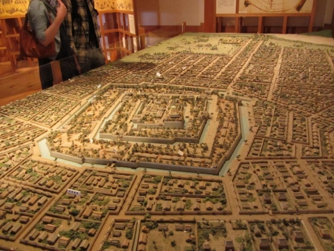 駿府城下模型
