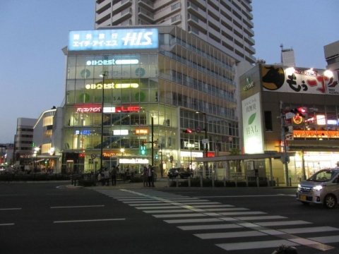 江川町交差点