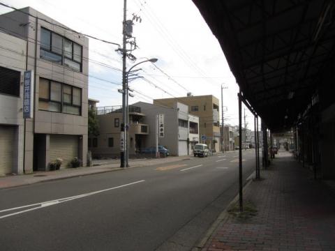 鋳物師町と上横田町の境