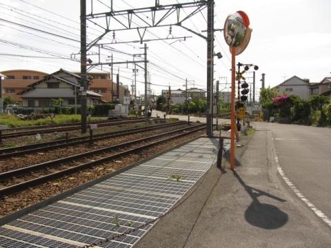 東海道本線踏切