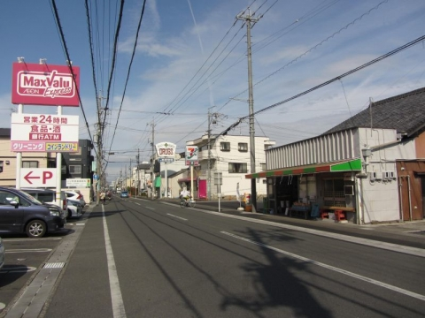 旧東海道 追分