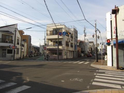 江尻宿問屋場・高札場跡