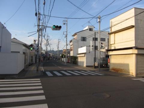 江尻宿東木戸跡