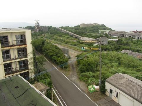 3号アパート屋上からの眺望