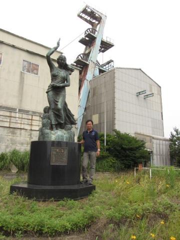 慈海の女神像