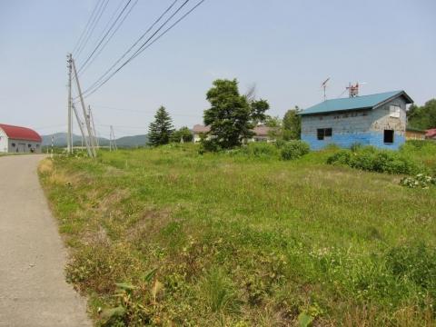 幌成駅跡北側の路盤