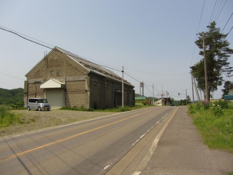 幌成の多度志農業倉庫