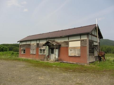 旧鷹泊駅舎