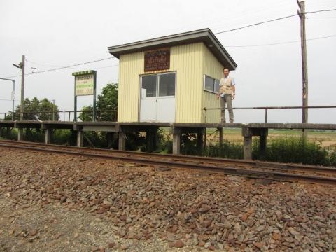 於札内駅06