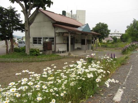 新十津川駅構内