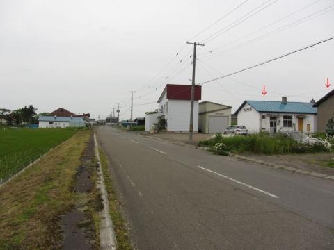 上徳富駅跡付近