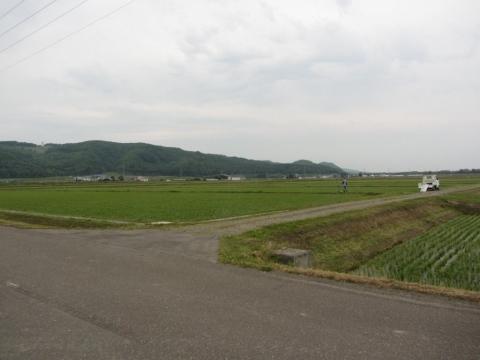 北上徳富駅跡より石狩沼田方面