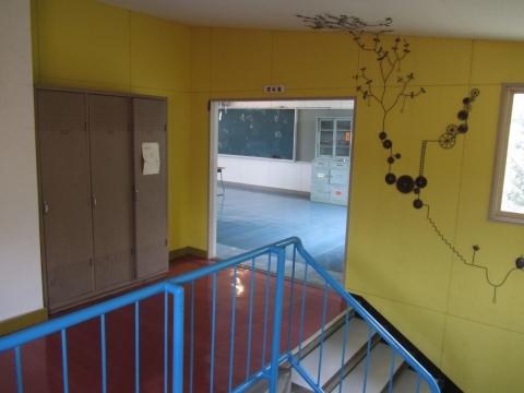旧政和小学校理科室