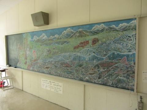 政和アートFes 黒板アート