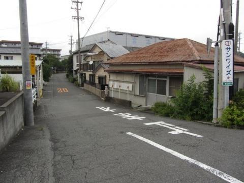 旧東海道 興津中町
