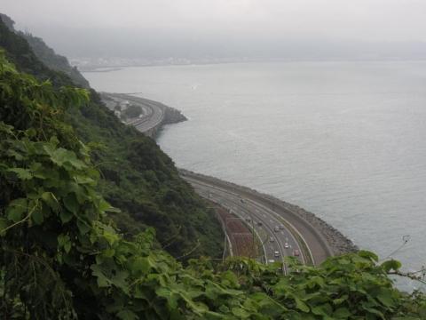 薩埵峠より駿河湾