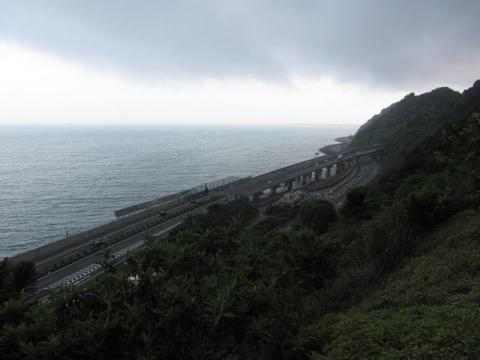 薩埵峠と駿河湾