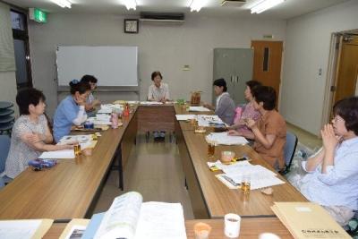 作州津山商工会久米地区女性部全体会議・教養講座