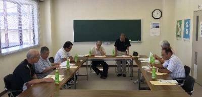 作州津山商工会平成29年度第1回総務企画委員会