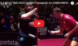 サムソノフVSギオニス(3回戦)世界卓球2017