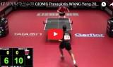 ギオニスVSワンヤン(2回戦)世界卓球2017