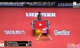 平野美宇VS丁寧(準決勝)世界卓球2017
