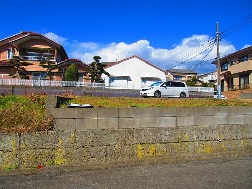 勝浦E様邸工事着工前の塀①