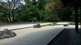 玉堂美術館の庭園