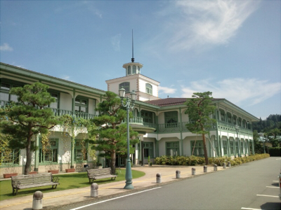高山の図書館