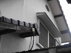 台風対策~雨戸-1