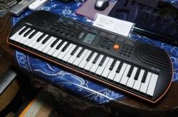 CASIO 電子ミニキーボード-1