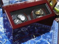 ワインディングマシーン 機械式時計 自動巻上機・4本用-3