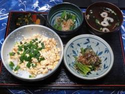 麻婆豆腐20170610昼