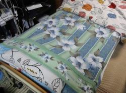 布団を夏用に20170522