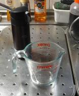 計量カップ~耐熱ガラス