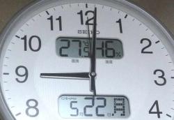 夜の室温20170522