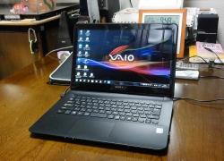 SONYのノートPC SVF-143B18nN Windows10へ無料バージョンアップ