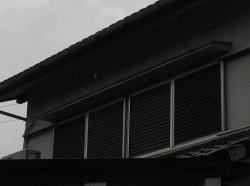 台風対策~雨戸-2