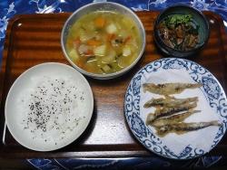 夕食20170707